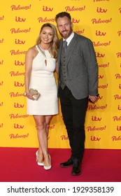 London, United Kingdom - October 16, 2018: Ola Jordan and James Jordan attends the ITV Palooza held at The Royal Festival Hall on October 16, 2018 in London, England.