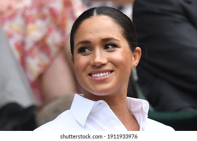 London, United Kingdom, October 2020, former American actress and Dutchess of Sussex Meghan Markle