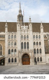 London, United Kingdom - October 30th, 2017:- The Guildhall of the City of London