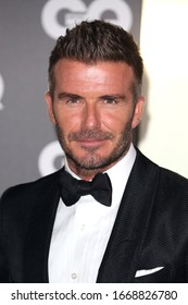 London, United Kingdom-September 3, 2019: David Beckham attends the GQ Men Of The Year Awards at Tate Modern in London, UK.