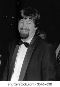 LONDON-NOVEMBER 27: Trevor Nunn, British theater director, attends a celebrity event on November 27, 1989 in London.