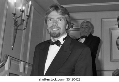 LONDON-OCTOBER 18: Richard Branson, Head of the Virgin group of companies, attends a celebrity event on October 18, 1990 in London.