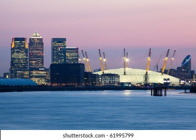 London's City Financial District - Canary Wharf