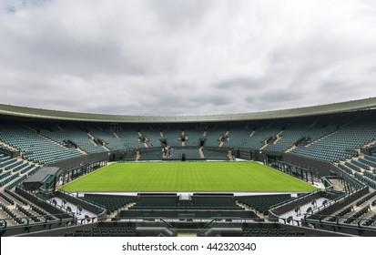 LONDON,THE UK-CIRCA MAY 2016: Visiting Wimbledon place