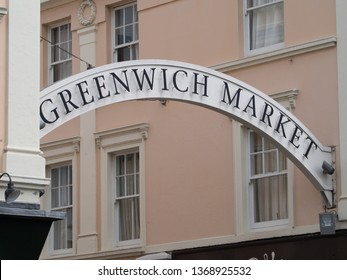 London/UK - July 08 2017: The market at Greenwich village, London. Greenwich is an early-established district of south east London