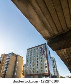 London/UK - October 26th 2018: Buildings