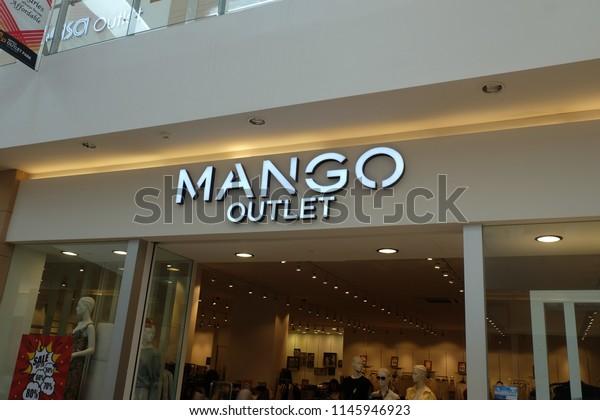 Londonunited Kingdom July 312018 Mango Outlet Stock Photo