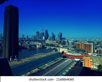Londo's skylines from high