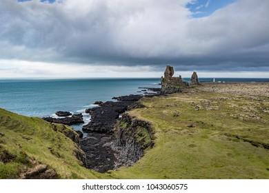 Londrangar Basalt Cliffs in Iceland