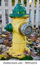Lone fire hydrant
