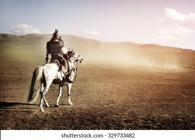 Lone Man Staring At The Crowd Of Soldiers Army Concept