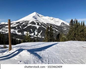 Lone Mountain, Big Sky Montana