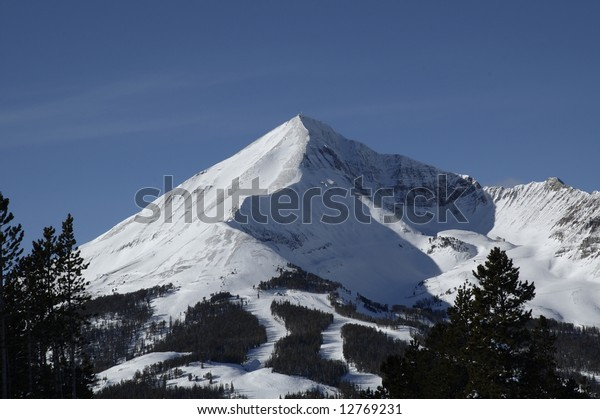 Pic Lone Big Sky Montana