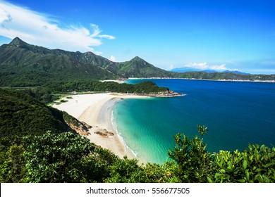 Lonely beach in Hong Kong / Paradise / Ham Tin Wan