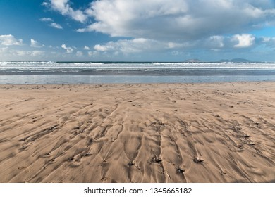 Lonely beach landscape