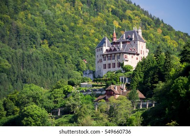 The lonely castle next to Annecy. France