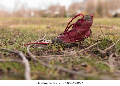 lonely childrens shoe