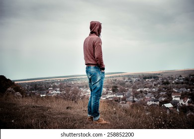 The Lonely Guy on a walk