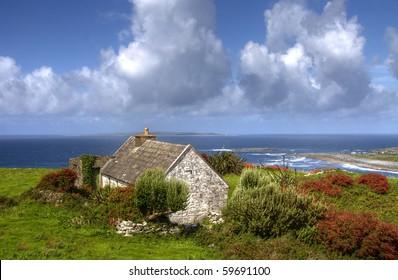 Lonely irish house
