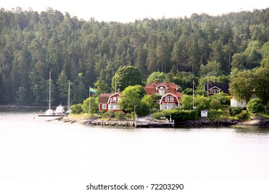 Lonely island in Sweden, Stockholm Archipelago