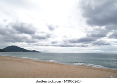 Lonely and peaceful sandy beach