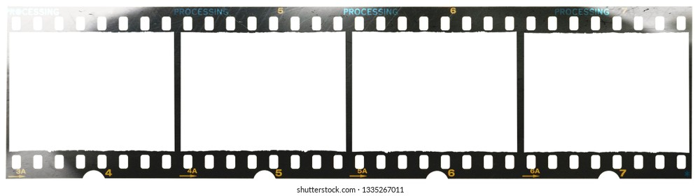 long 35mm film strip, just blend in your content to get that old film effect