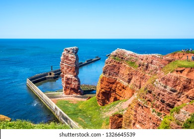 Long Anna in Island Helgoland, Germany