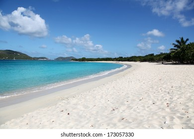 Long Bay Beach in Tortola, British Virgin Islands (BVI)