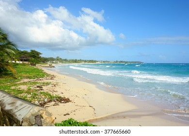 Long Bay is a scenic beach located in Portland parish of Jamaica, not too far from city of Port Antonio. Photo taken December 30, 2013.