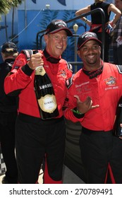 LONG BEACH - APR 18: Dave Pasant, Alfonso Ribeiro at the Toyota Grand Prix Of Long Beach Pro/Celebrity Race - Race Day on April 18, 2015 in Long Beach, California