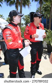 LONG BEACH - APR 18: John Rzeznik, Mark McGrath at the Toyota Grand Prix Of Long Beach Pro/Celebrity Race - Race Day on April 18, 2015 in Long Beach, California