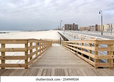 Long Beach Boardwalk - Long Island, New York