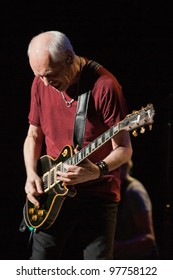 LONG BEACH, CA - MARCH 14: Peter Frampton played to a sold out crowd on March 14, 2012 at the Terrace Theatre in Long Beach, California.