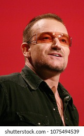 Long Beach, California/USA -Oct 22, 2008 - Singer Bono speaks during the Minerva awards ceremony at the California Women's Conference 2008 in Long Beach, California.
