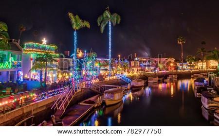 long beach christmas lights decoration