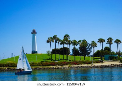 Long Beach Lighthouse in Summer