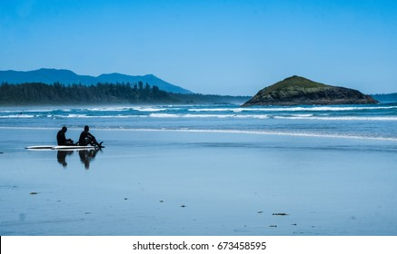 Long Beach, Pacific Rim National Park Reserve, Tofino, Vancopuver Island, British Columbia, Canada.