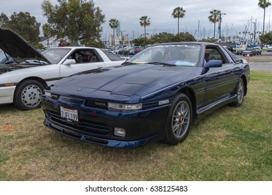 Long Beach, USA - May 6 2017: Toyota Supra 1990 on display during the 22nd annual All Toyotafest.