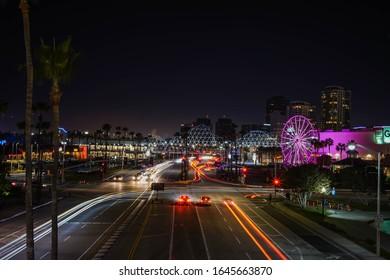 Long Beach, USA-2/14/20; Pike Outlets at Long Beach