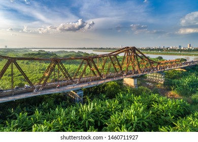 The Long Bien Bridge was constructed from 1989 to 1902 during French's occupation of the country. Though the bridge was designed by French, it was built directly by Vietnamese workers