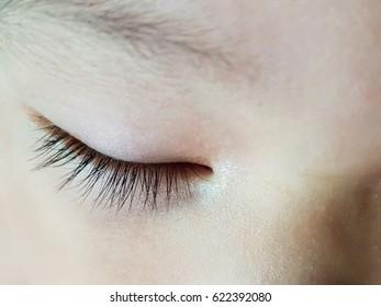 long black eyelash