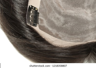 Long black natural straight human hair weaves toupee wigs