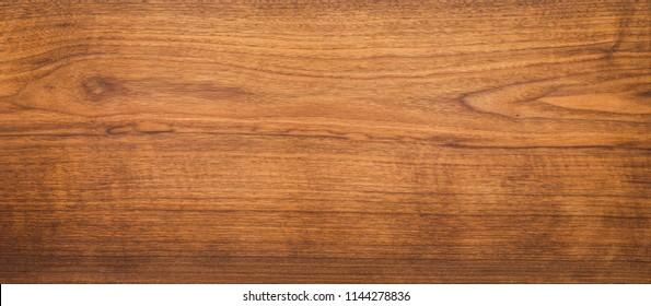Long black walnut wood plank texture background, texture element background