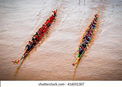 Long Boat Racing Thailand