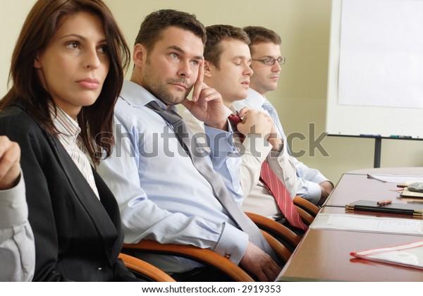 long boring informal meeting