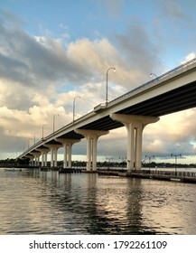 Long Bridge Over Water in Florida
