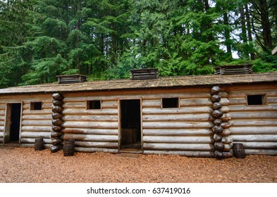 Long Cabin at Lewis and Clark National and State Historical Parks
