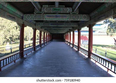 The Long Corridor at the Temple of Heaven - Beijing, China