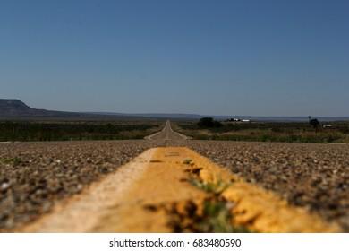 Long deserted road