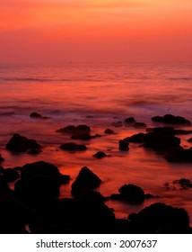 long exposure after sunset (goa, India) #3.